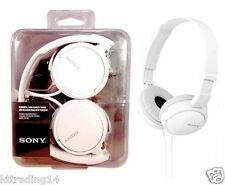 Sony MDR-ZX110 Stereo / Monitor Headphones (White) - EXCELLENT