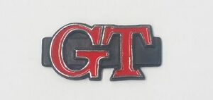 MAZDA-RX3-RX-3-GT-COUPE-REAR-PILLAR-BADGE-BLACK-RED