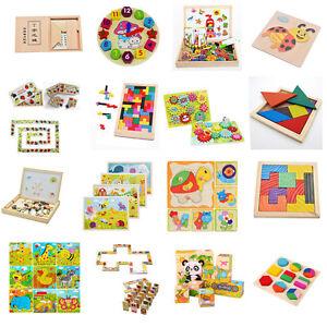 16Styles-en-bois-dessin-puzzle-collection-jouet-cadeau-pour-bebe-enfants