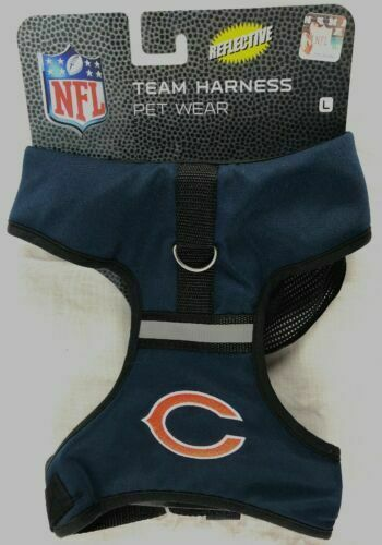 cheap for discount d58b1 c4e62 Chicago Bears NFL Licensed Pets First Reflective Dog Hoodie ...