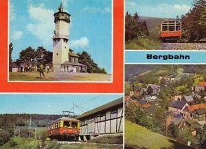 Oberweißbacher Bergbahn Mehrbildkarte gl1983 D5461