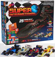 Afx Megag+ Super International Ho Slot Car Race Set Tri Power 21018 4 Lane on sale