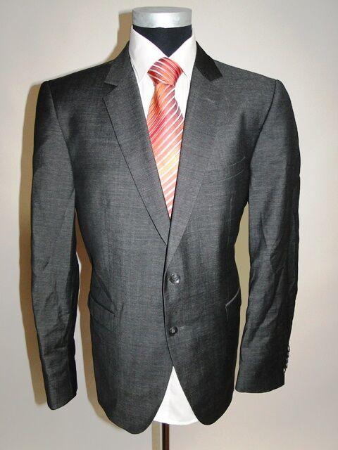 Strellson chaqueta Design cruzados antracita monocromo lana virgen talla  52  increíbles descuentos