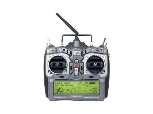 EU w//Maxima 6 Rx PN 192240 charger w//220V Hitec Aurora 9X AFHSS 2.4G NEW