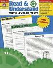 Read & Understand with Leveled Texts, Grade 6+ by Evan-Moor Educational Publishers (Paperback / softback, 2010)