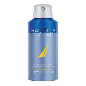 Nautica Voyage Deodorizing Body Spray 114g /4oz
