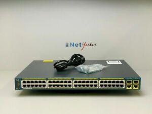 Cisco-WS-C2960-48PST-L-48-Port-PoE-Ethernet-Switch-SAMEDAYFASTSHIPPING