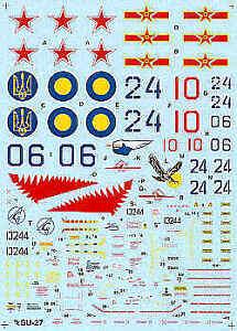 100% Vrai Hi Decal 1/48 Sukhoi Su-27 Flanker B 1992 # 48003-afficher Le Titre D'origine Bas Prix