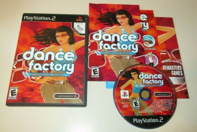 Dance Factory COMPLETE GAME for your Playstation 2 PS2 system VG DDR REVOLUTION