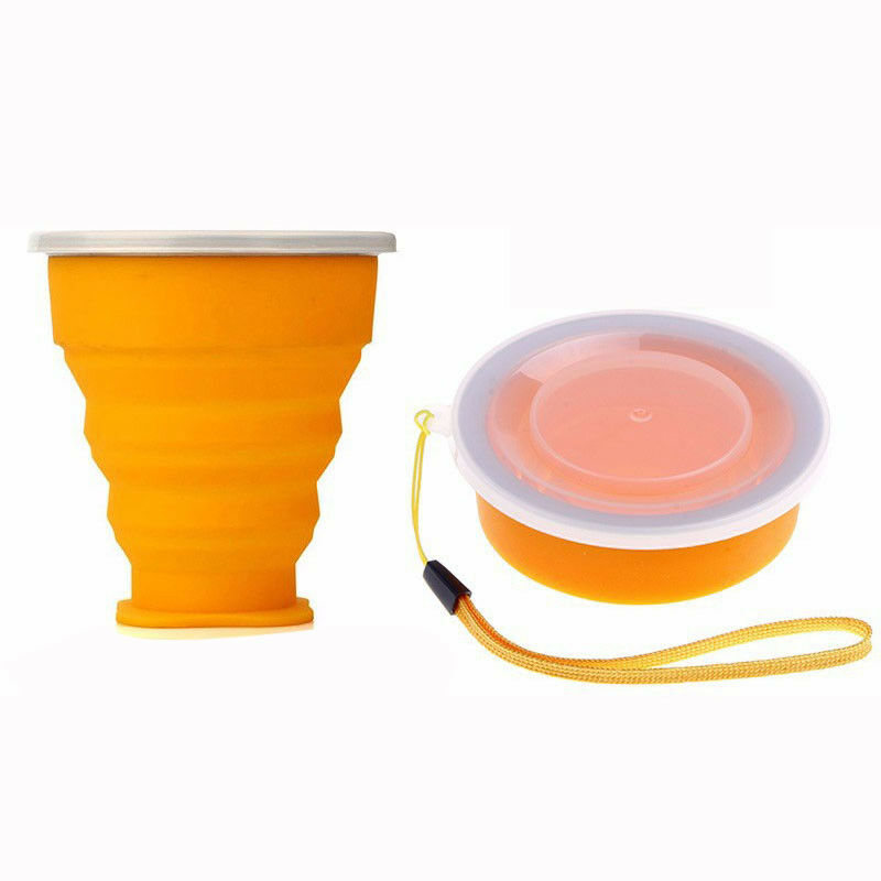 Camping Camping Camping Tasse-Pliable Télescopique Tasse-Café Gobelet To Go 112610