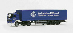 Herpa-h0-147385-Volvo-FH-planear-remolcarse-034-THW-034