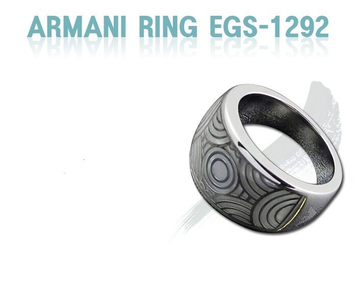 EMPORIO ARMANI WOMEN'S RING COLLECTION EGS1292 Sz. 5