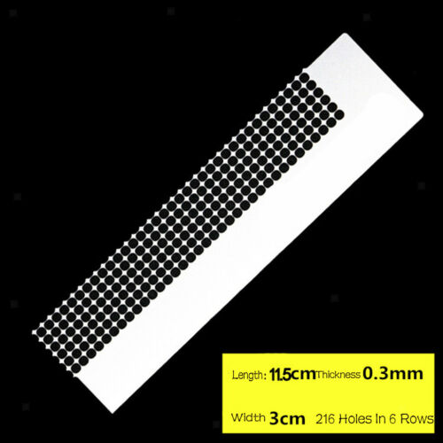 Diamond Painting Stainless Steel Ruler Clear Cross Stitch Painting Accessory