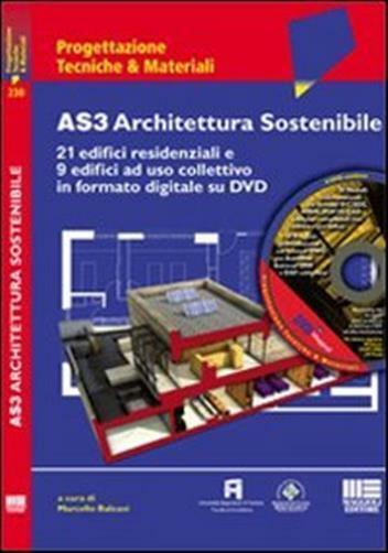 AS3 Architettura Sostenibile. Con DVD-ROM
