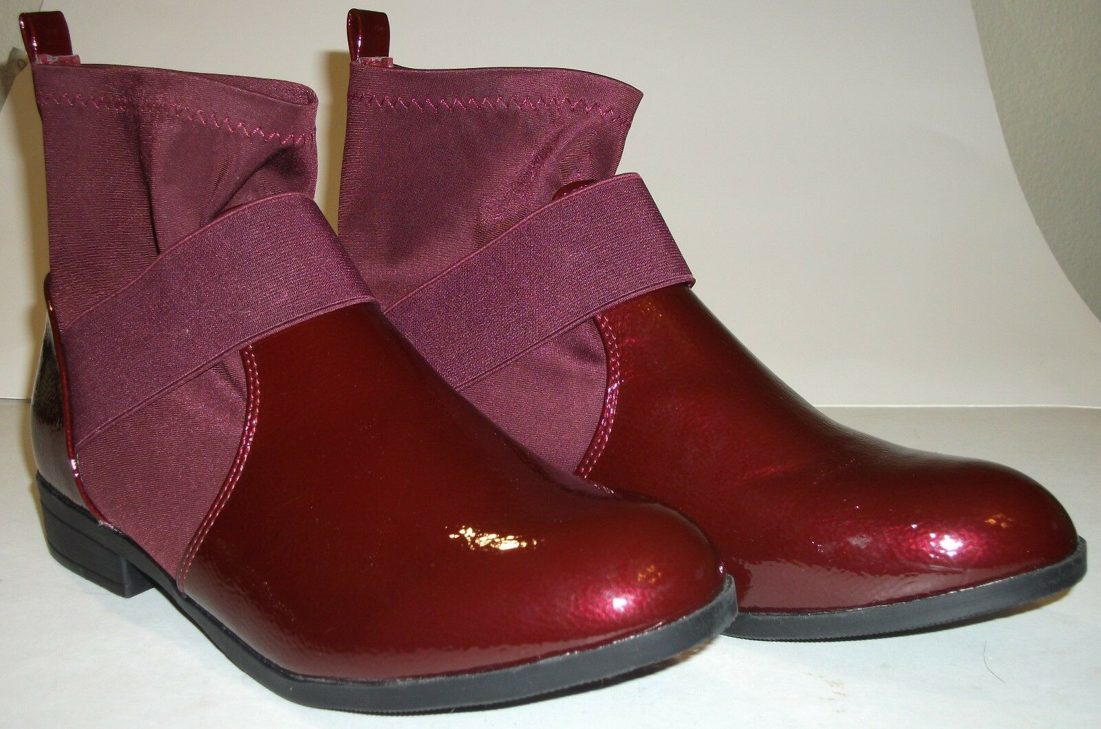 Weeboo womens Boot - Gracelynn - Size 10 - Maroon high Gloss
