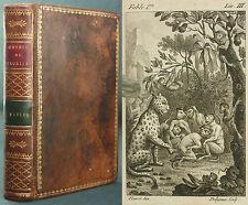 FLORIAN - FABLES - EO 1792 DIDOT L'AINE - TRES RARE, COMPLET - EXLIBRIS ANCIEN
