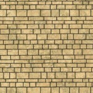 Javis DHLSS - Light Stone Paper - Dolls House Background Sheets + POSTAGE