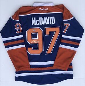connor mcdavid signed jersey ebay