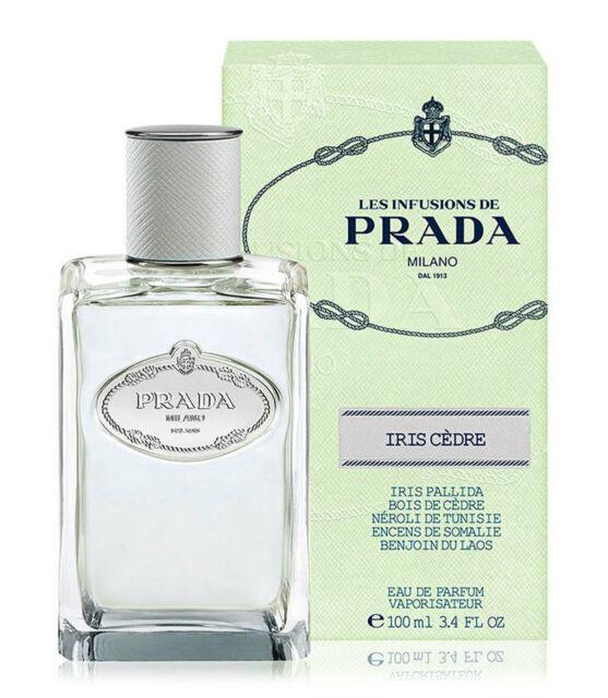Prada Infusion IRIS CEDRE by Prada Milano 3.4 Fl.oz 100ml Eau De Parfum Spray