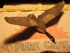 Decoy Miniature Wood Goose  vintage