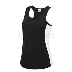 AWDis Just Cool Mens Womens Sports Gym Cool Vest