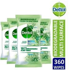 3x Milton Surface 30 Wipes Pack
