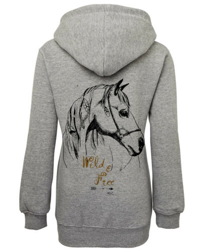 ***HEELS DOWN CLOTHING*** DREAM COLLECTION.HOODIE.WILD AND FREE DESIGN