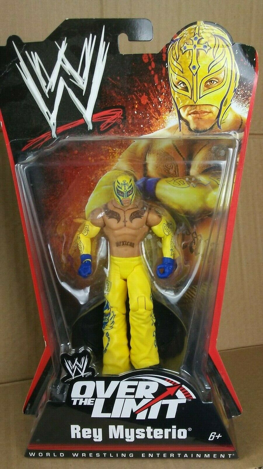 NEW MATTEL WWE OVER THE LIMIT REY MYSTERIO ACTION FIGURE