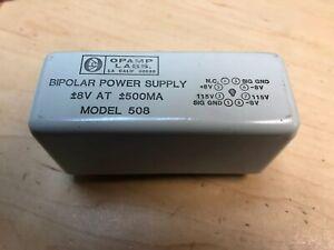 // 15V 250mA OPAMP Labs Model 512 Bipolar Power Supply