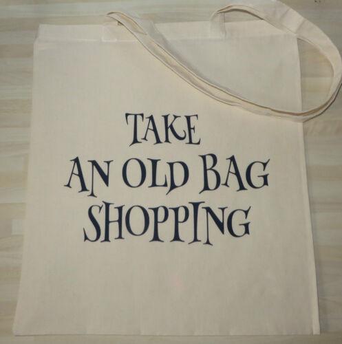 Foldable Tote Bag Reusable Large Cotton Bag Supermarket Shopping Bag Novelty Bag