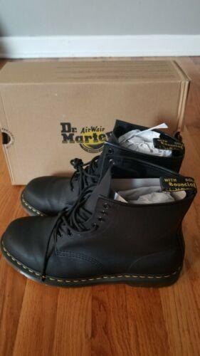 Dr. Martens Men's sizes 13 Black 1460 greasy Leat
