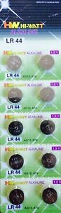 10-X-LR44-AG13-A76-675-1166A-L1154-ALKALINE-BUTTON-BATTERY-BATTERIES-1-5V