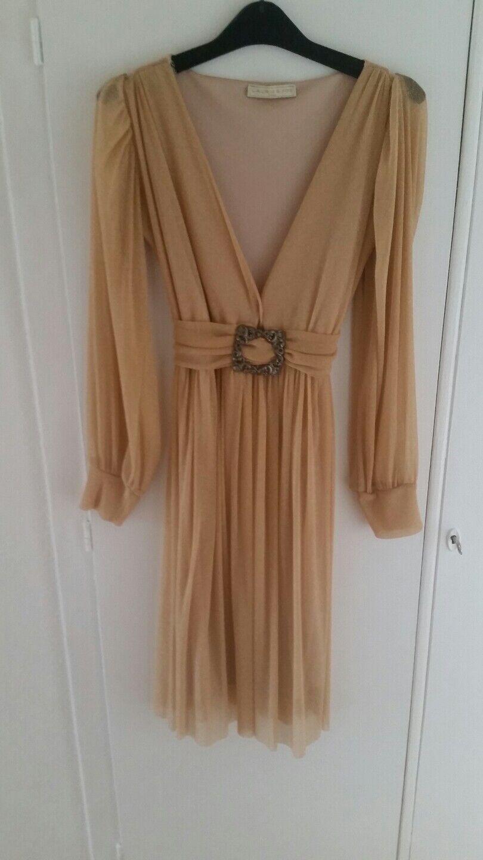 Neues Kleid in Farbe Gold, Gr. S  Firma  Laurie  &  Joe  Paris