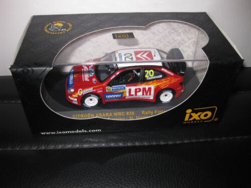 IXO 1.43 WRC CITROEN XSARA #20 RALLY FINLAND TUOHINO MARKKULA  RAM250