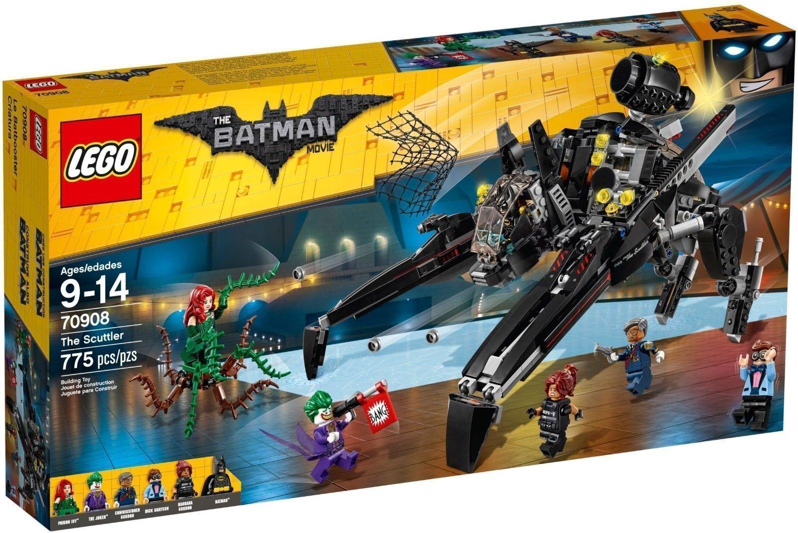 LEGO BATMAN MOVIE - 70908 - THE SCUTTLER BRAND NEW & SEALED