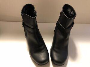 Womens Kohls Black Dress Boots Size 8.5