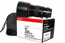 Canon EF 200mm f/2.8 L II USM Macro Portrait Objektiv für Canon EOS Kameras