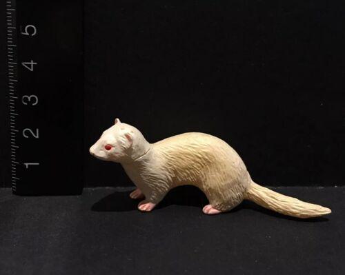 Kaiyodo Furuta Choco Q Pet Animal 1 Ferret Albino Figure B