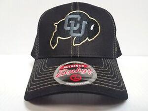 info for 9e241 87698 Image is loading Colorado-Buffaloes-Cap -Zephyr-Snapback-Staple-Trucker-Blackout-
