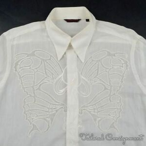 ROBERTO CAVALLI CLASS Polo Shirt White Logo Embroidered RRP £100