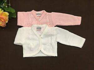 Dandelion Baby Boy Cable Knitted Bolero Cardigan for Newborn 18 Months
