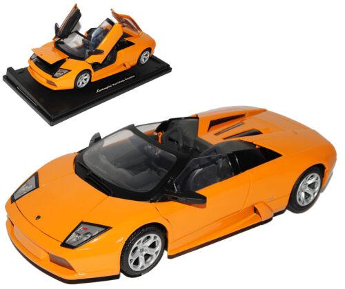 modelo. Lamborghini Murcielago roadster convertible Orange 2001-2010 1//18 Motormax a