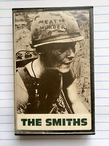 The Smiths Meat Is Murder Original UK Cassette Rough Trade