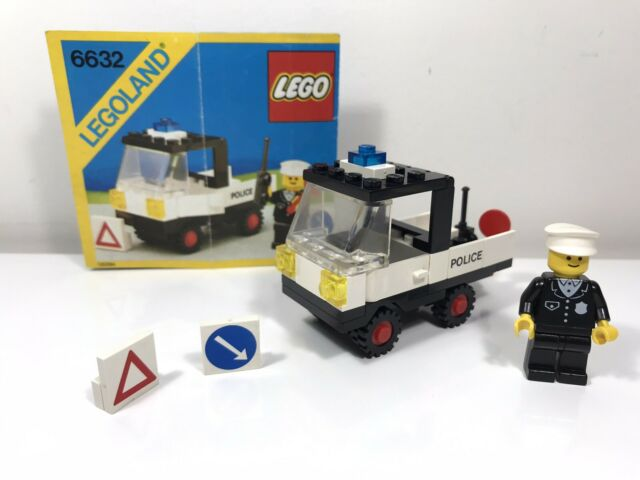 LEGO Vintage Set 6632-1 Tactical Patrol Truck Classic Town With Instructions