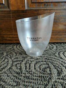 Details About Terrazas Wine Ice Bucket Party Tub Beer Wine Bar Beverage Drinks Cooler Chiller