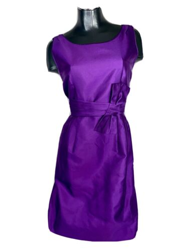 Kate Spade Bew York Mademoiselle Dress Bow Purple
