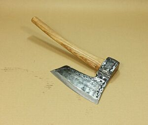 VTG-3-26-LBS-GOOSEWING-BEARDED-BROAD-GERMAN-HATCHET-AXE-HEAD-HANMADE-FORGED-RARE