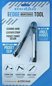 Benchmade-50030-Edge-Maintenance-Tool-Ceramic-Knife-Sharpener-Leather-Strop-Clip