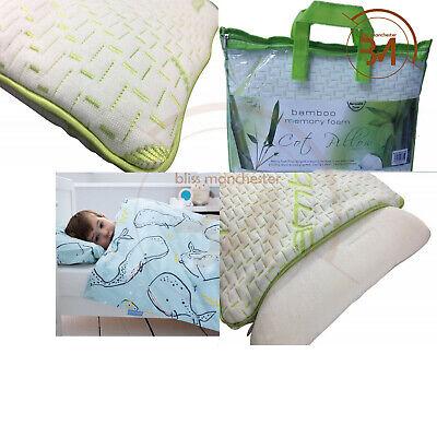 New Anti-Allergy Cot Bed Pillow Nursery Junior Kids Baby Toddler Comfort Pillow