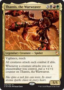 Thantis-the-Warweaver-Foil-x4-Magic-the-Gathering-4x-Commander-2018-mtg-card
